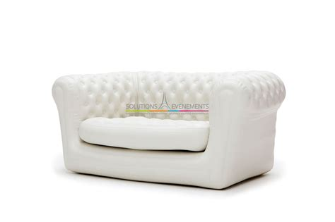 canape chesterfield blanc location de canape chesterfield gonflable blanc