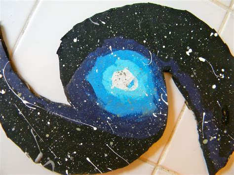 Milky Way Art Project Crafts Galaxy Projects