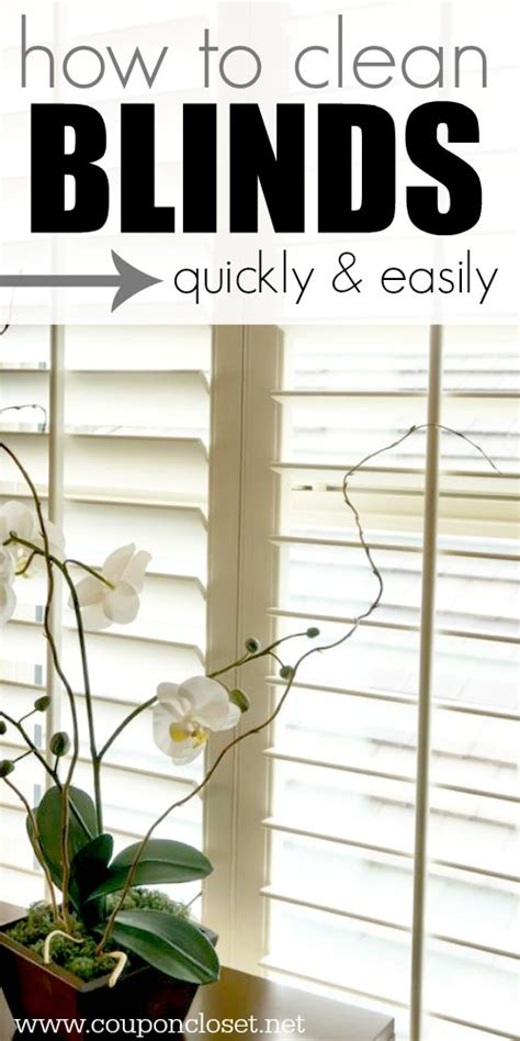 how to clean l shades how to clean blinds easily 5 easy ways coupon closet