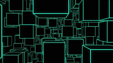 architecture house plan background neon animation