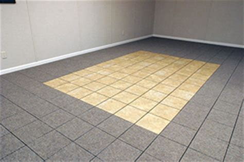 theramldry carpeted basement flooring mold waterproof
