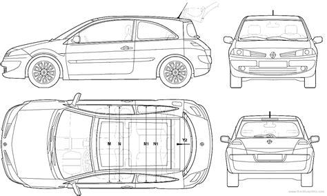 blueprints gt cars gt renault gt renault megane ii 3 door