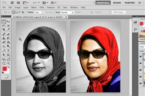 convert black  white photo  color  photoshop cs read full article httpwebneel