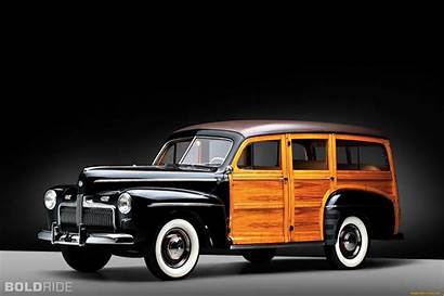 Wagon Station Ford 1942 Woody Cars Deluxe