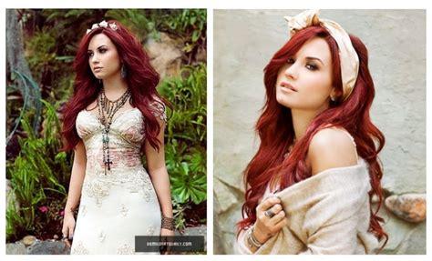 Love Demi Lovatos Hair Color And Style Hair Pinterest