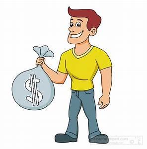 Man Giving Money Clipart - ClipartXtras