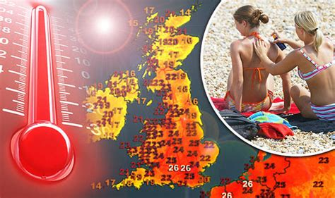 range weather forecast uk summer forecast uk set for 90 days of as summer in 40 years hits weather