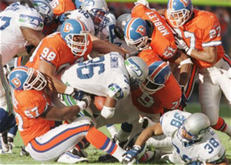 seahawks broncos rivalry     afc west days