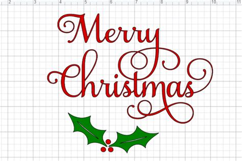 The size of our free svg files can be increased or decreased without any loss of quality. Free Merry Christmas SVG File - Daily Dose of DIY