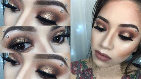 coachella makeup tutorial morphe  halo eye