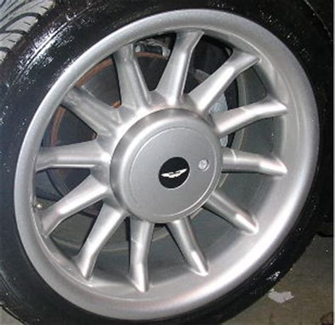 refinished aston martin db wheelsrims wheel