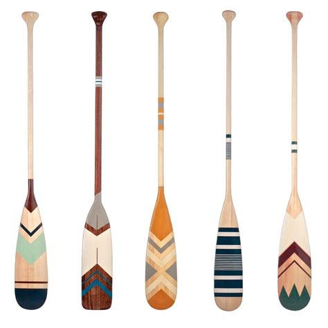 painted oars and paddles 25 best ideas about canoe paddles on blue