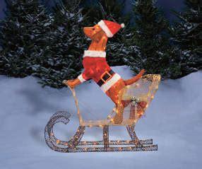 winter  lane light  dog  sleigh  big lots
