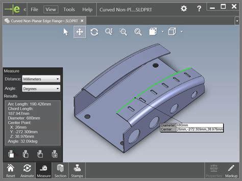 edrawings measure tool      document