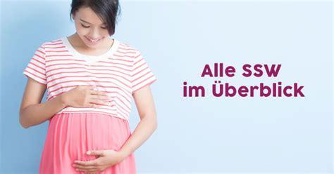 die  ssw schwangerschaftswoche auf einen blick