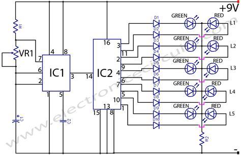 bi colour led running lights circuit diagram world