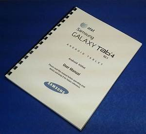 Registration And User Manual For Samsung T-580