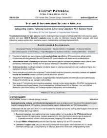 It Security Specialist Resume by Information Security Resume Haadyaooverbayresort