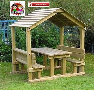 Gazebo Plan  Pdf Plan  Pavilion Plan  Covered Picnic Table