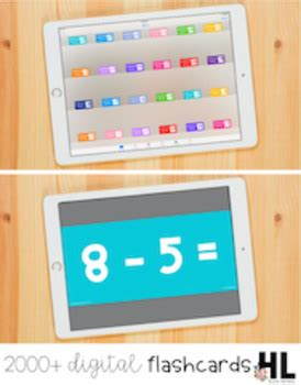 Digital Fluency Flashcards Math Edition By Hello Literacy Tpt