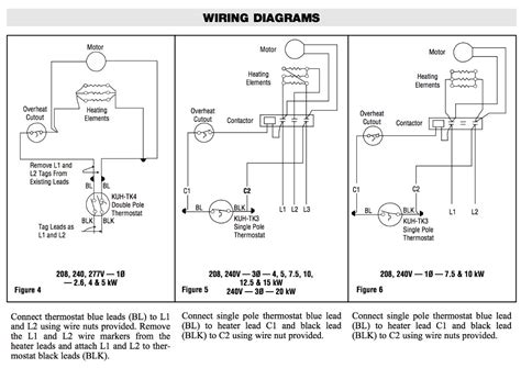 robertshaw thermostat  voltage  phase wiring diagram
