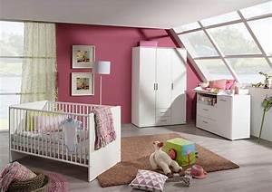 Babyzimmer Komplett Mädchen : komplett babyzimmer trelleborg babybett wickelkommode gro er kleiderschrank 3 tlg set ~ Indierocktalk.com Haus und Dekorationen