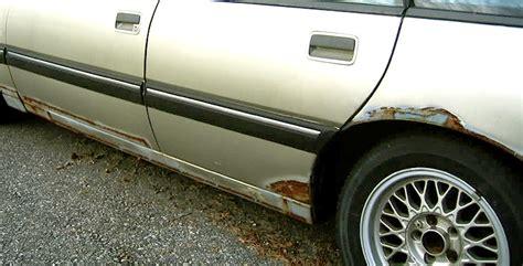 prevent rust   car