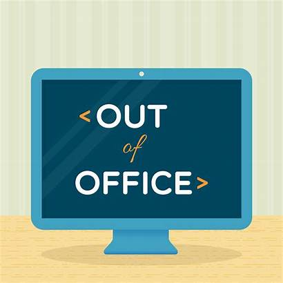 Office Clip Vector Absent Turn Replies Illustrations