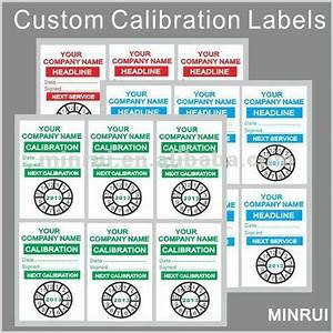 tamper proof calibration sealscustom calibration stickers With custom calibration labels