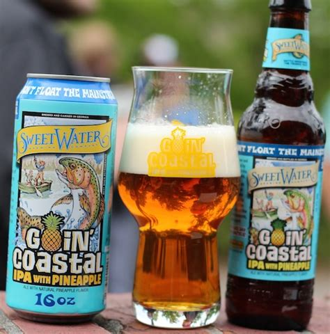 SweetWater Brewing Goin' Coastal IPA with Pineapple ...