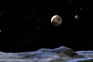 Vulcan? Not on our tiny balls. Pluto moons named Kerberos ...