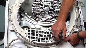 Ge Dryer Repair  U2013 How To Replace The Duct Felt Seal