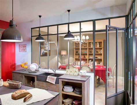 cuisine verriere maison cuisine ouverte verriere chaios com
