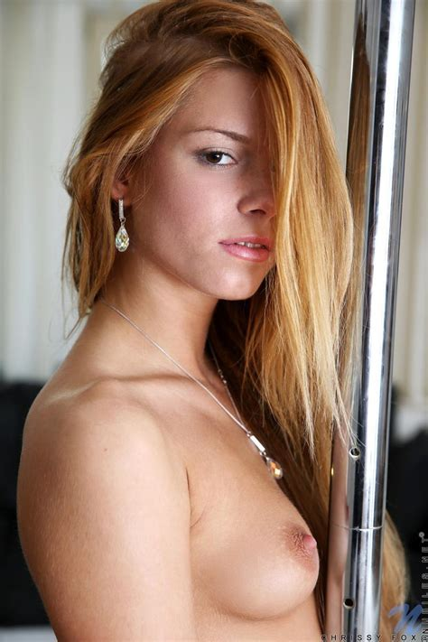 Chrissy Fox Works The Stripper Pole