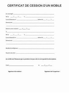 Acte De Vente Voiture Pdf : certificat de cession par macer fichier pdf ~ Gottalentnigeria.com Avis de Voitures