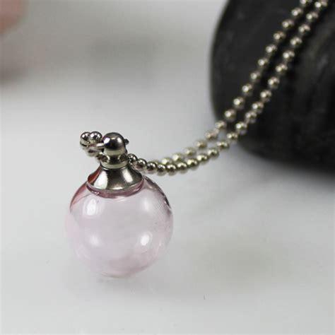 clear lockets crystal perfume necklace toenail tips diy