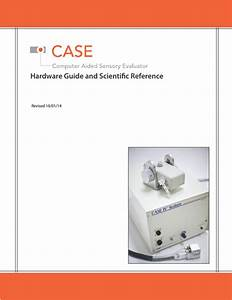 Case Computer Aided Sensory Hardware Guide And Scientific