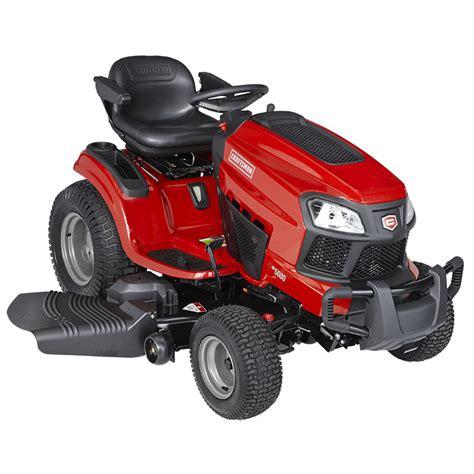 craftsman garden tractor craftsman 20408 54 quot 24 hp v briggs stratton