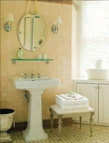 Vintage Bathroom Tile Ideas Vintage Tile Bath Ideas On Shower Curtains Pedestal Sink And Small Bathrooms