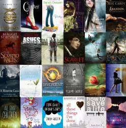 Teen Book Cover Collage