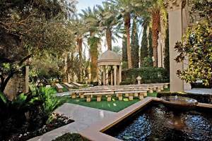 5 favorites garden wedding venues in las vegas little for Las vegas mansion wedding venues