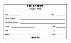 taxi invoice template uk hardhostinfo With limo receipt template