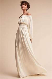 3970s inspired wedding gowns for the bride who39s just plain With 70s inspired wedding dress
