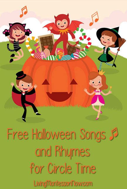 free songs and rhymes for circle time 773 | Free Halloween Songs and Rhymes for Circle Time e1412671564481