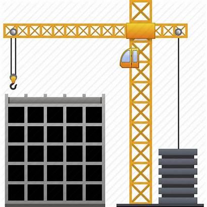 Icon Construction Building Project Build Development Crane