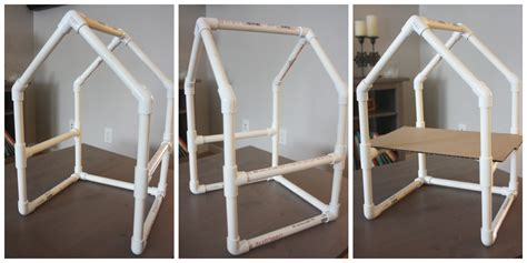 Pvc Furniture Fittings by Pvc Pipe House Building Project Stem Engineering Activity
