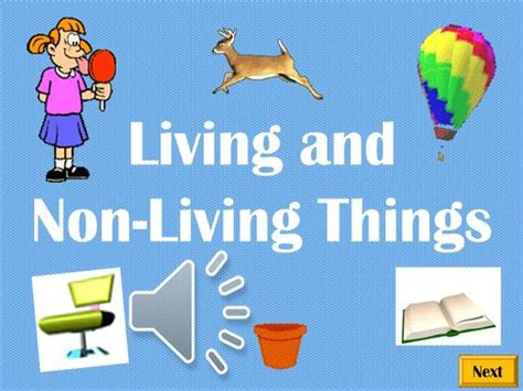 living things and non living things authorstream