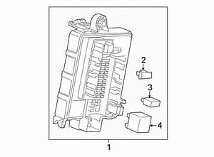 2017 Chevrolet Cruze Fuse  Amp  Engine  Compartment