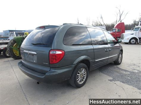 Chrysler Mini by Used 2002 Chrysler Town And Country Mini For Sale In