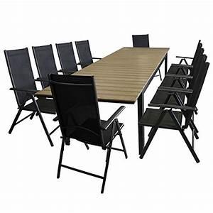 Polywood Gartenmöbel Set : multistore 2002 11tlg gartengarnitur sitzgarnitur sitzgruppe gartenm bel set aluminium polywood ~ Markanthonyermac.com Haus und Dekorationen